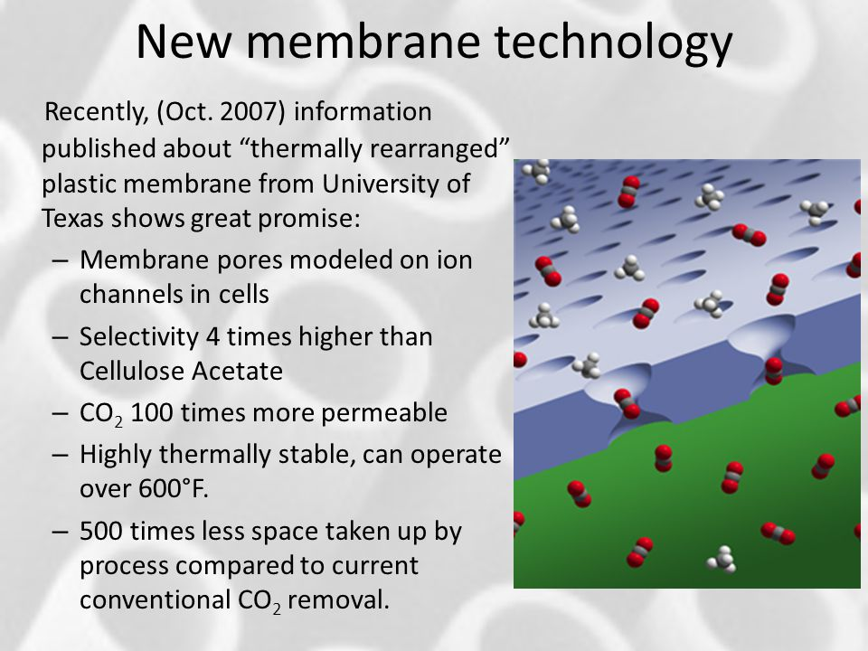 New membrane technology