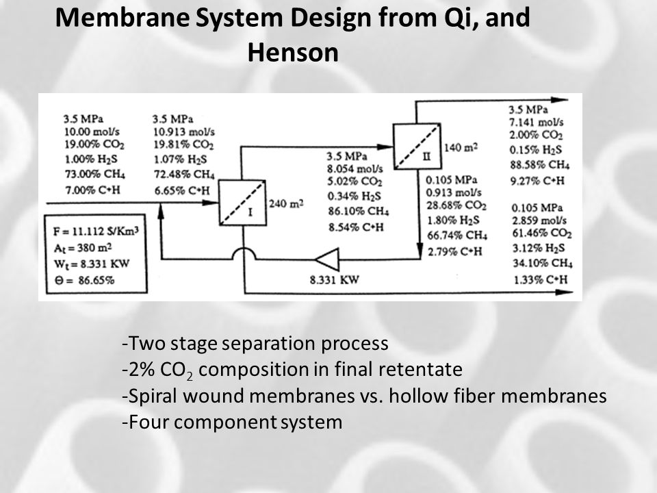 Membrane System Design from Qi, and Henson