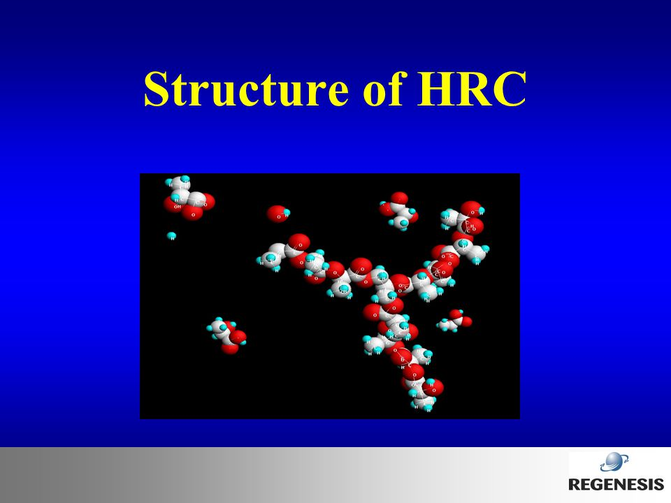 Structure of HRC