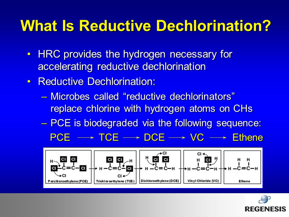 What Is Reductive Dechlorination