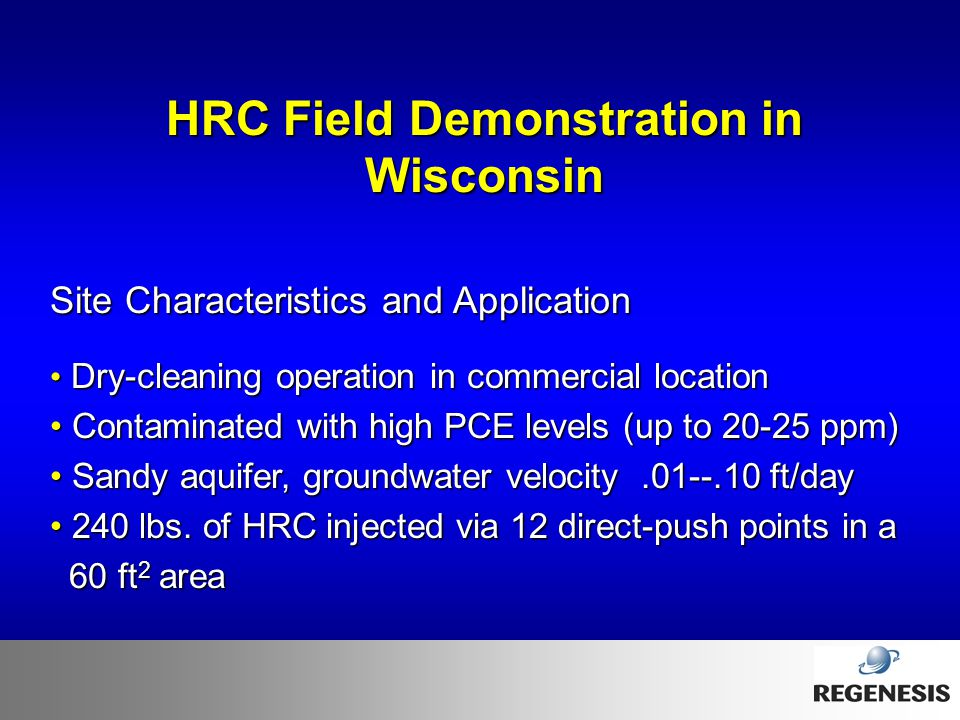 HRC Field Demonstration in Wisconsin