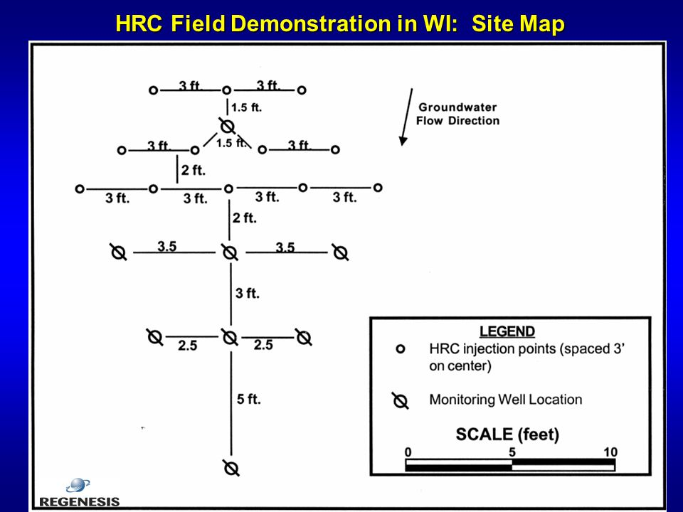 HRC Field Demonstration in WI: Site Map
