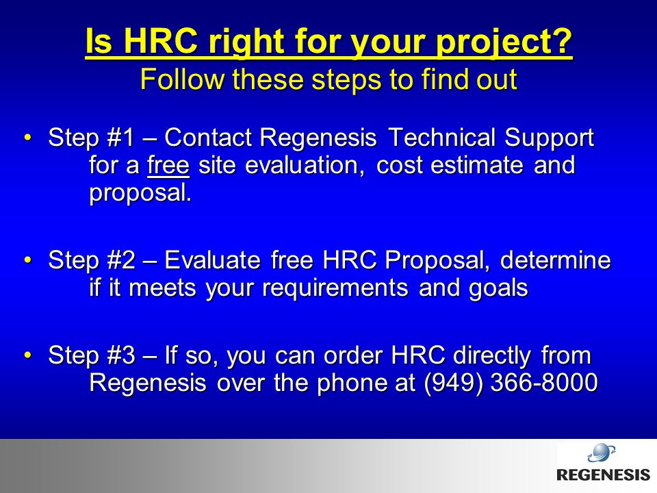 Is HRC right for your project Follow these steps to find out