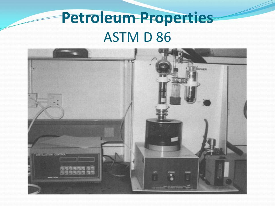 Petroleum Properties ASTM D 86