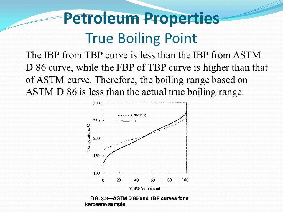Petroleum Properties True Boiling Point