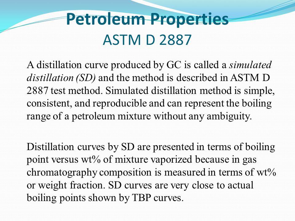 Petroleum Properties ASTM D 2887