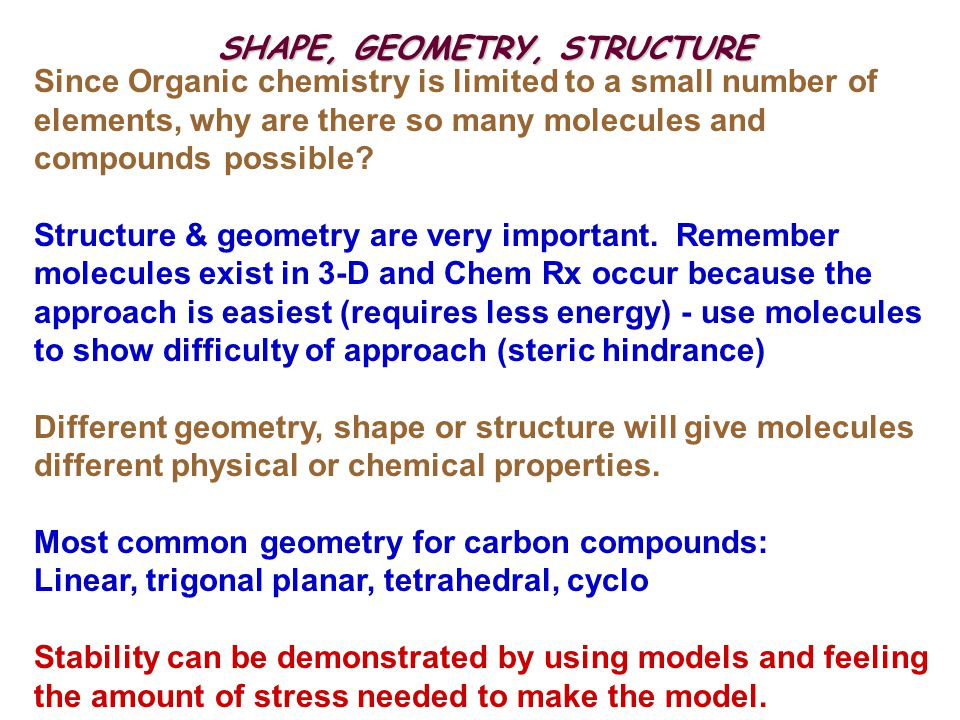 SHAPE, GEOMETRY, STRUCTURE