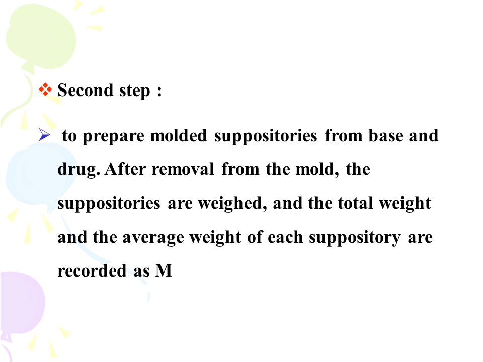 Second step :