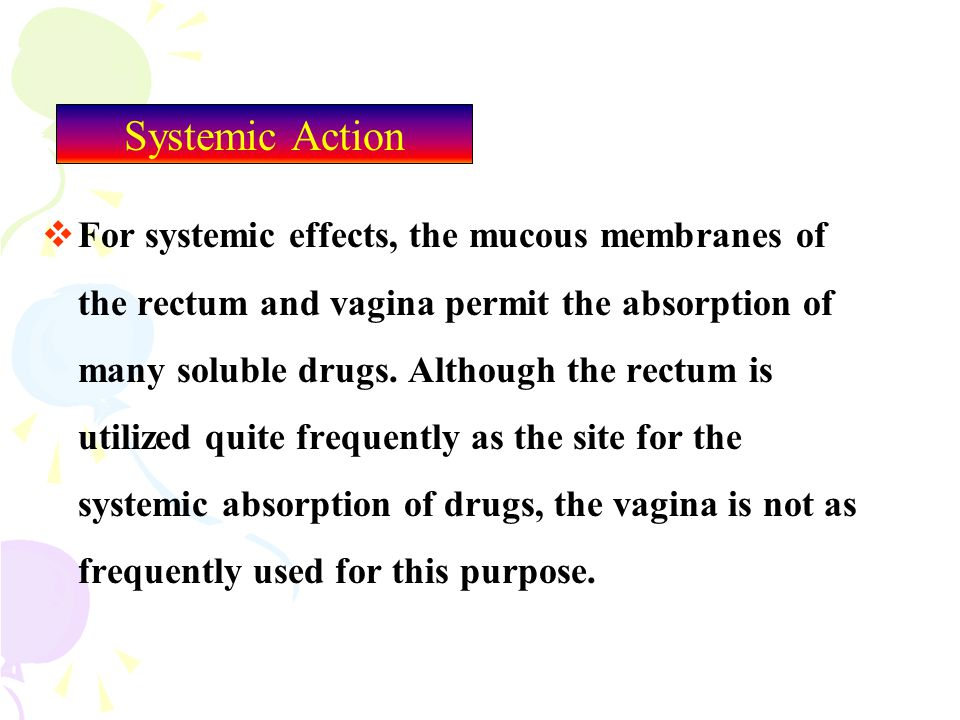 Systemic Action