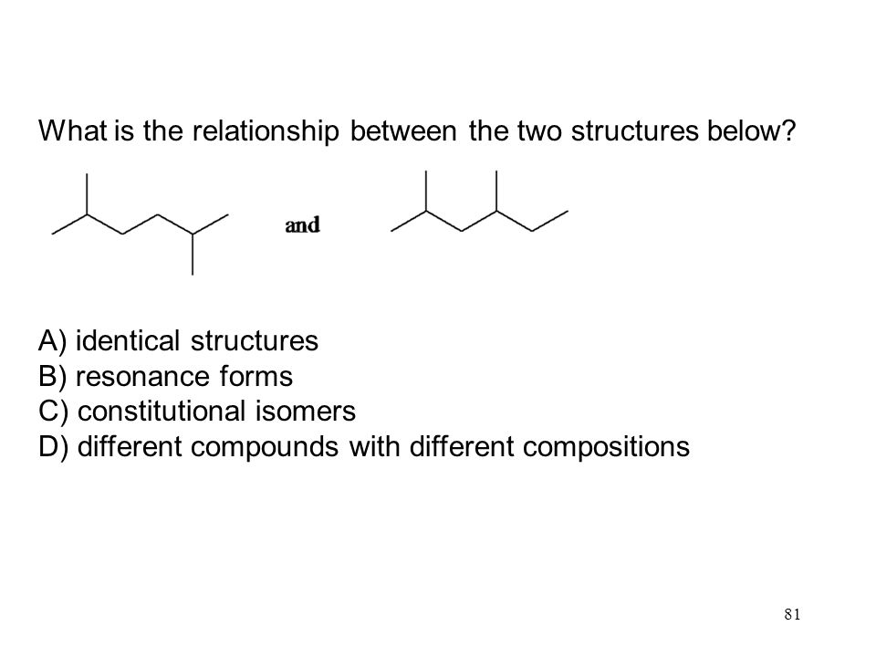 What is the relationship between the two structures below