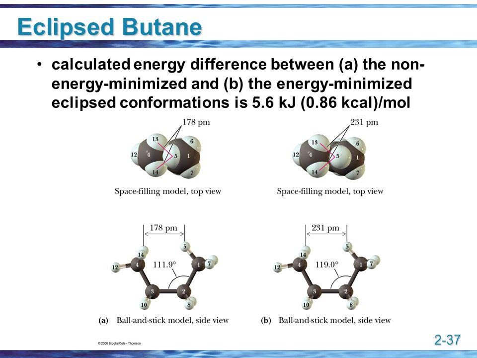 Eclipsed Butane