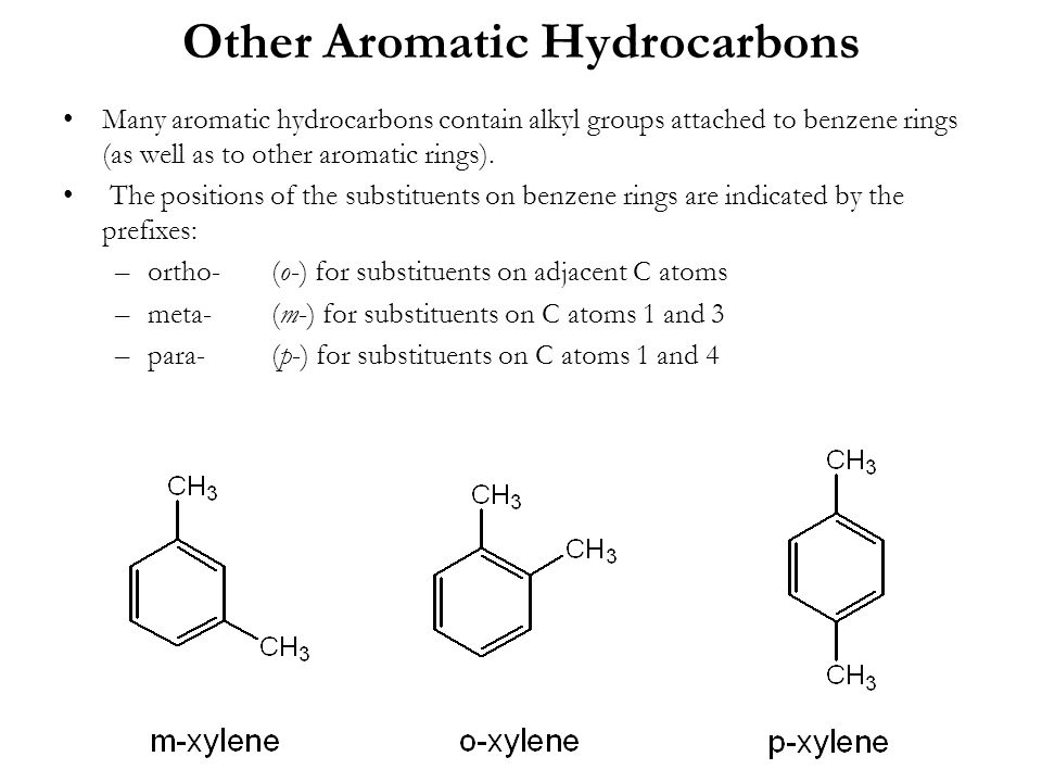 Other Aromatic Hydrocarbons