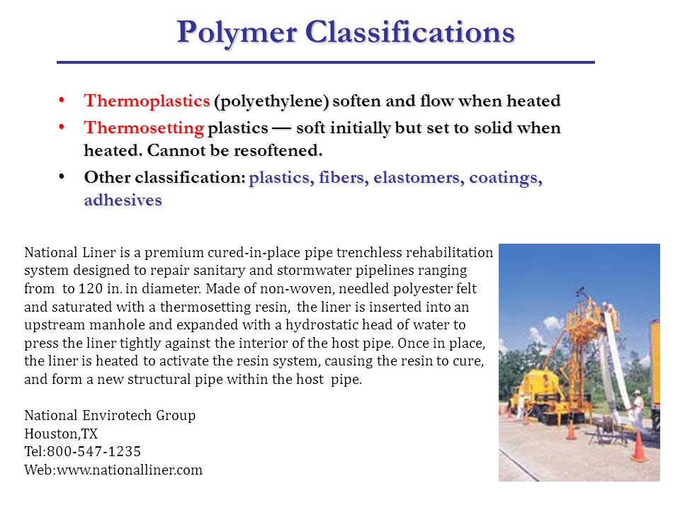 Polymer Classifications