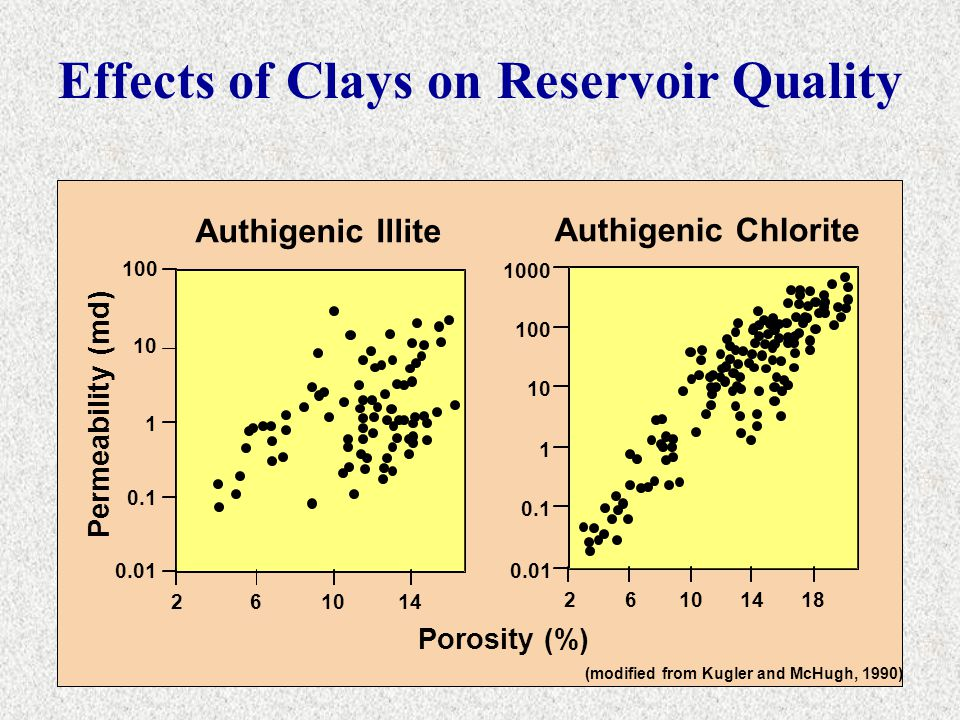 Effects of Clays on Reservoir Quality