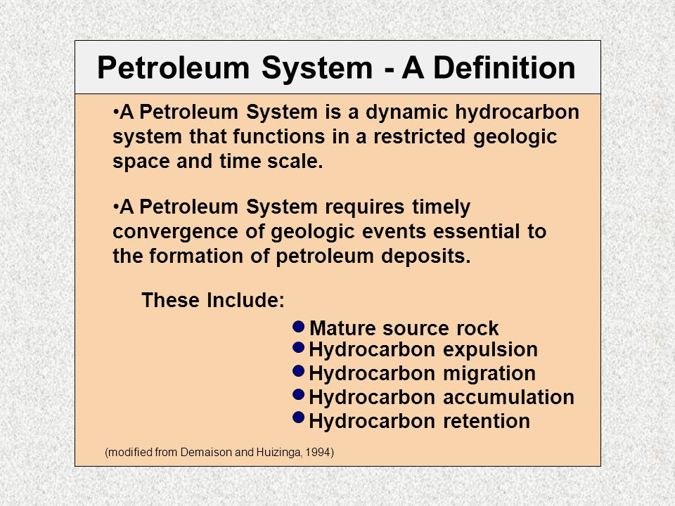 Geology of Petroleum Systems 4