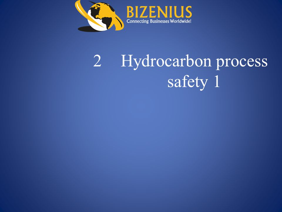 2 Hydrocarbon process safety 1