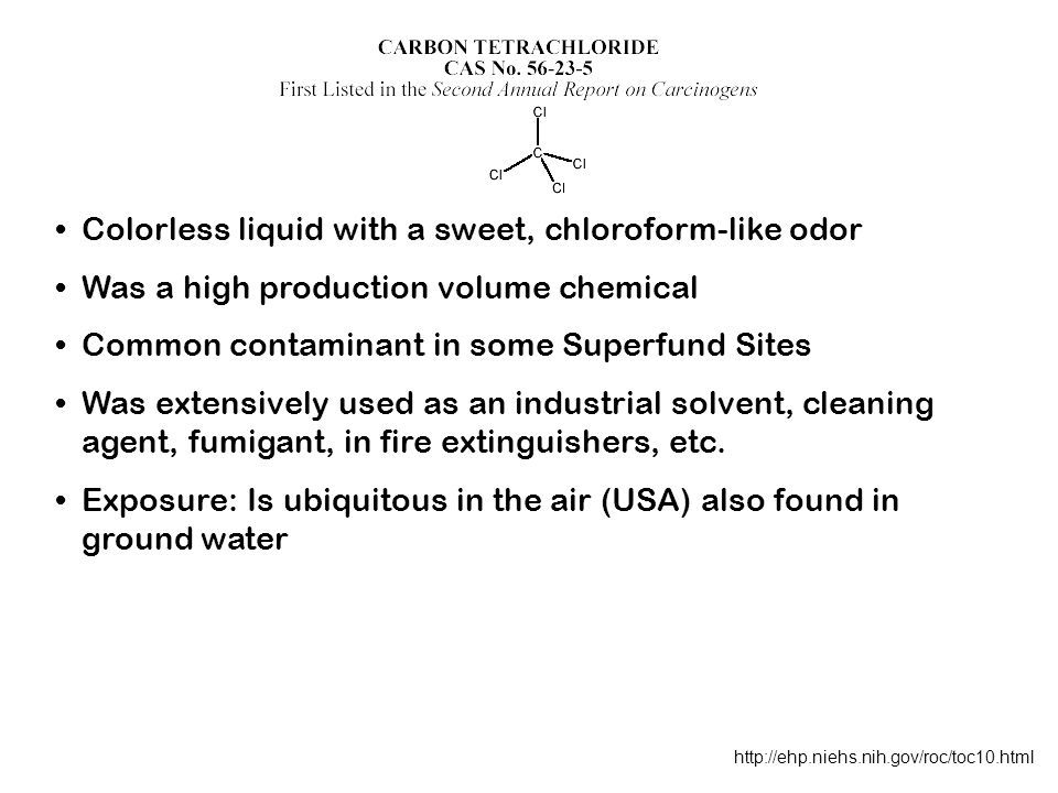 Colorless liquid with a sweet, chloroform-like odor
