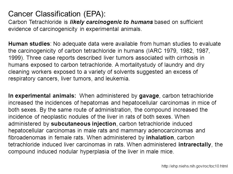 Cancer Classification (EPA):