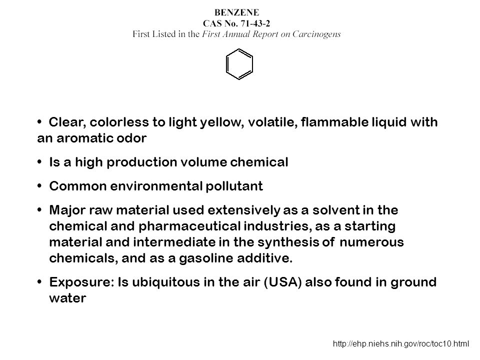 Is a high production volume chemical Common environmental pollutant