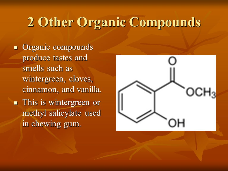 2 Other Organic Compounds