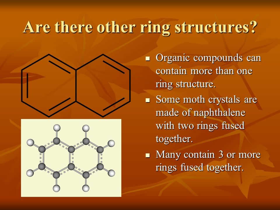 Are there other ring structures
