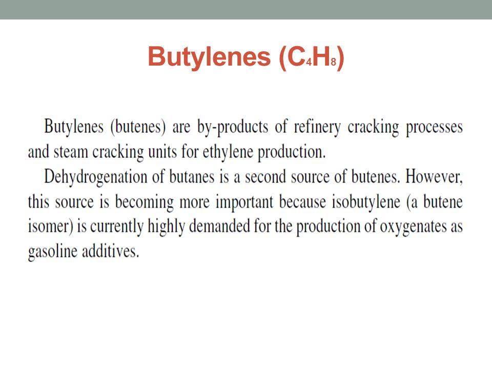 Butylenes (C4H8)