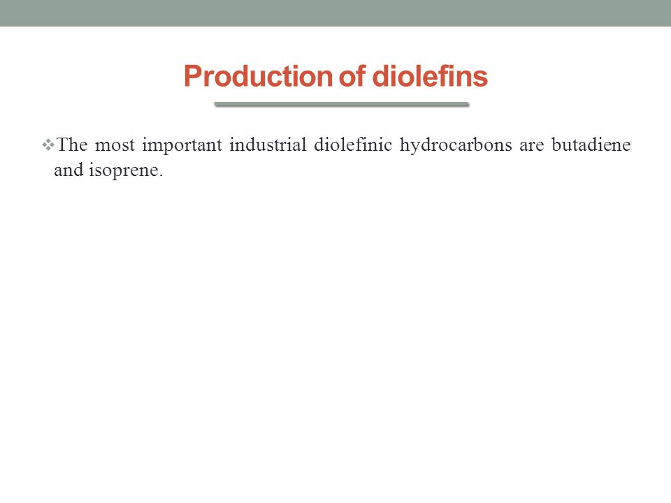 Production of diolefins