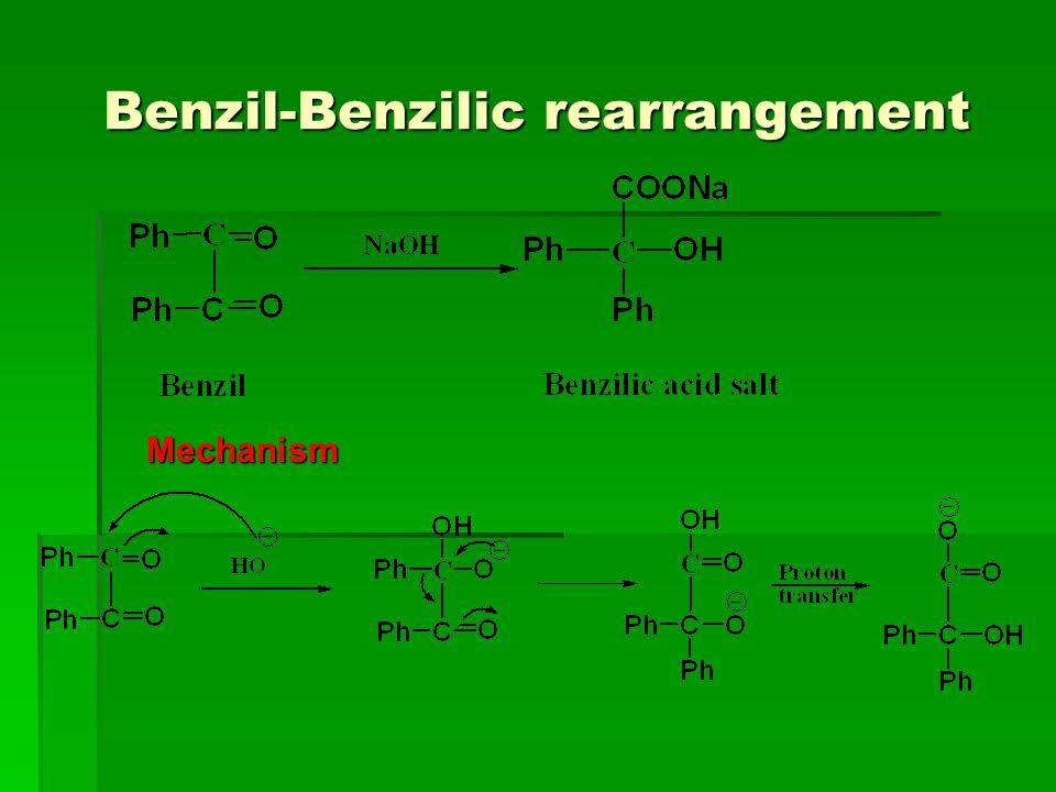Benzil-Benzilic rearrangement