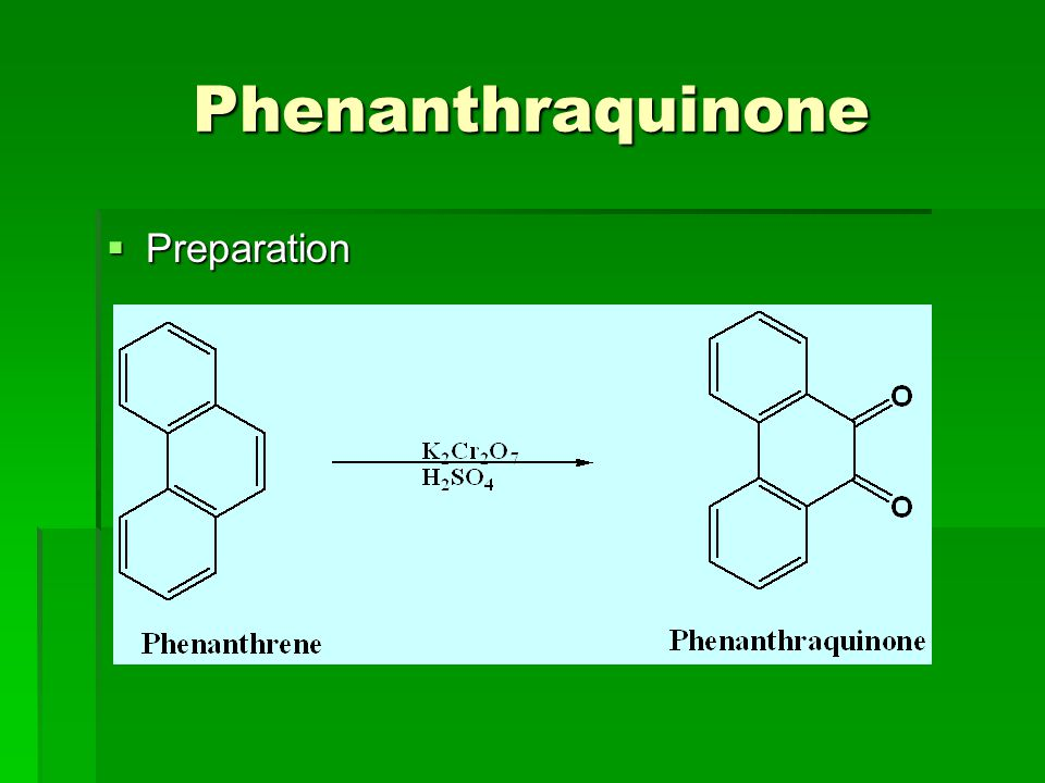 Phenanthraquinone Preparation