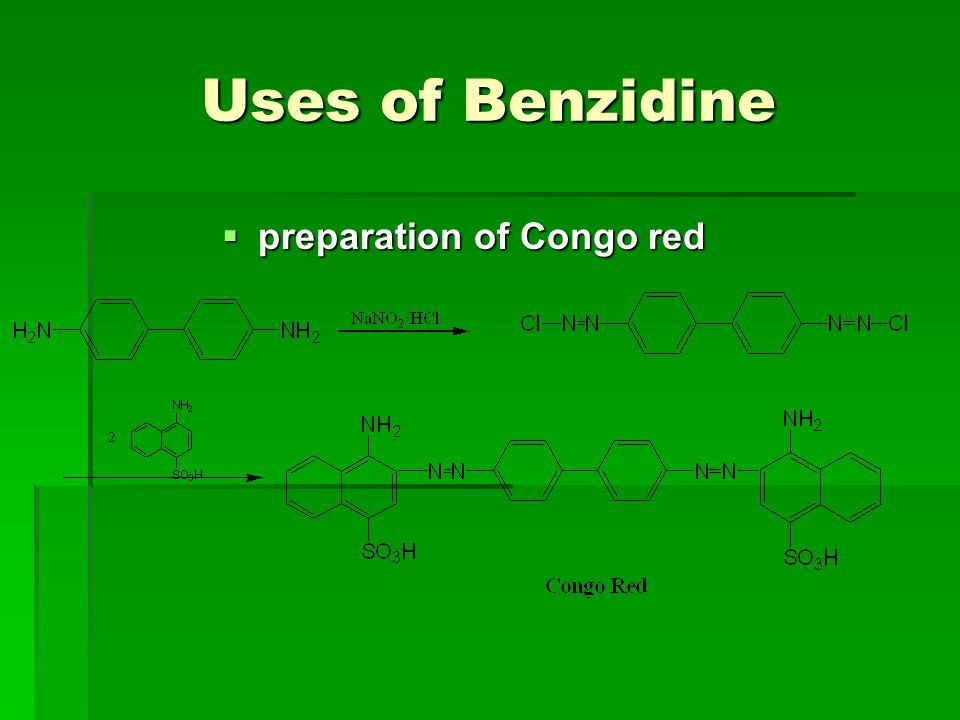 preparation of Congo red