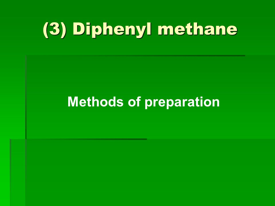 Methods of preparation