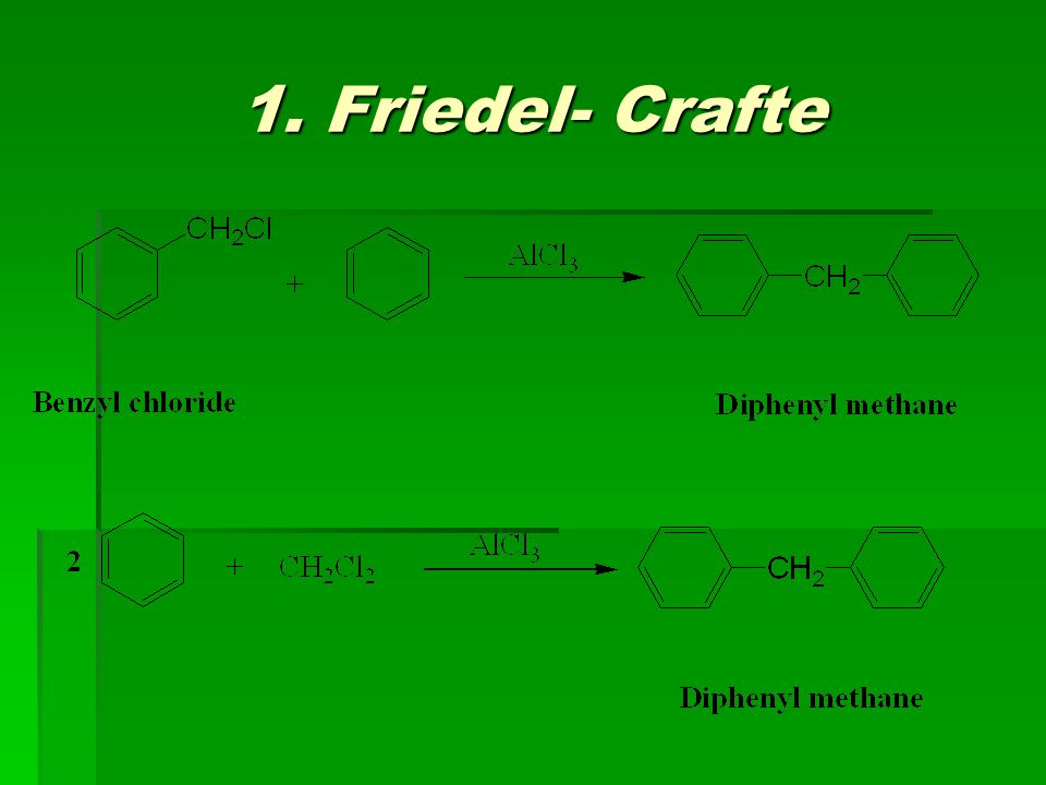 1. Friedel- Crafte
