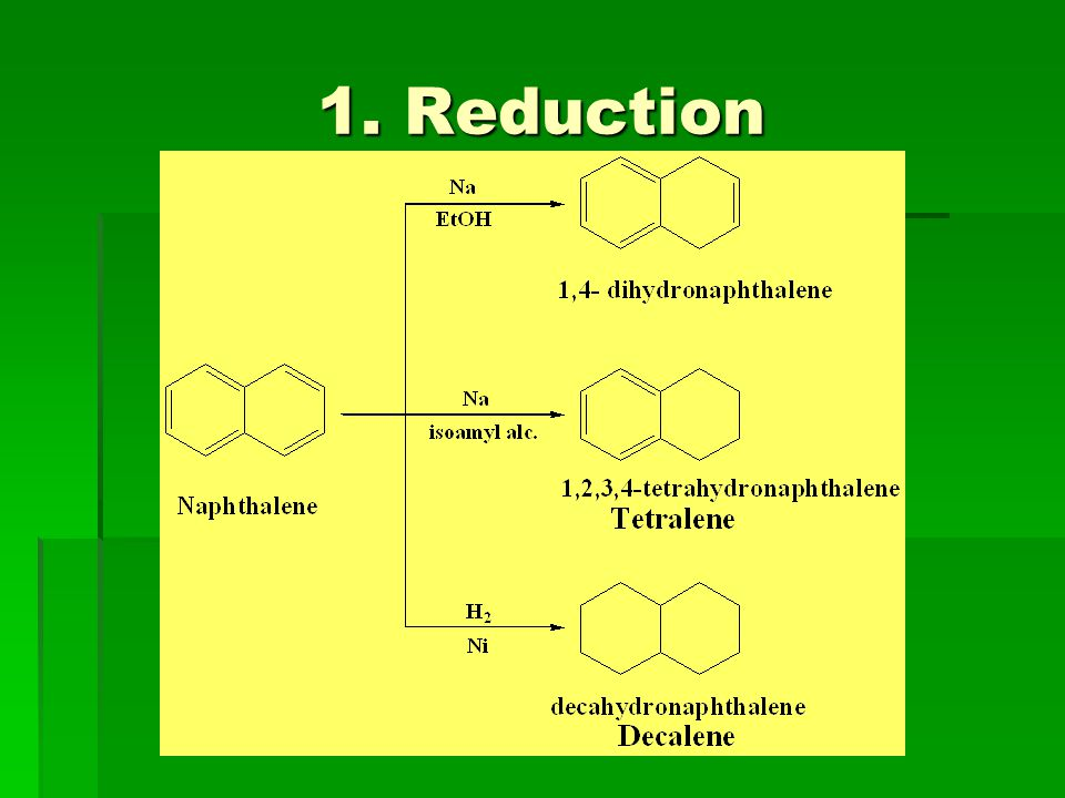 1. Reduction