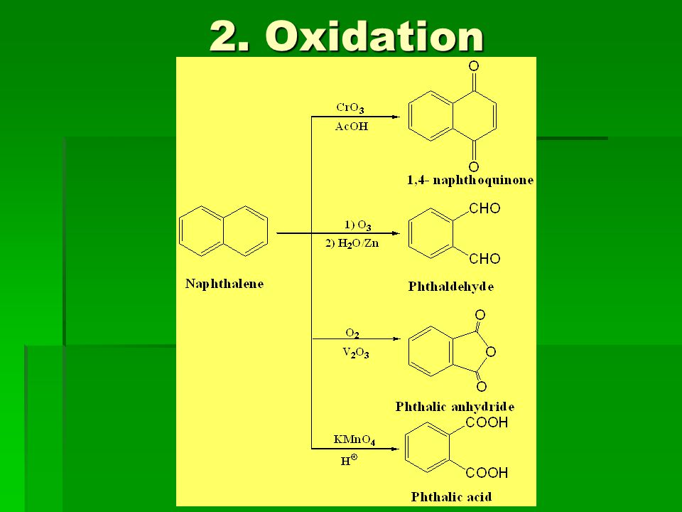 2. Oxidation