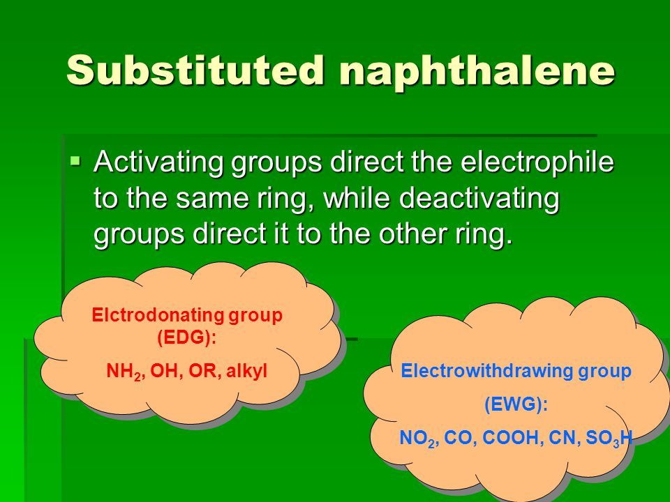 Substituted naphthalene
