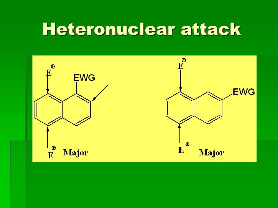 Heteronuclear attack