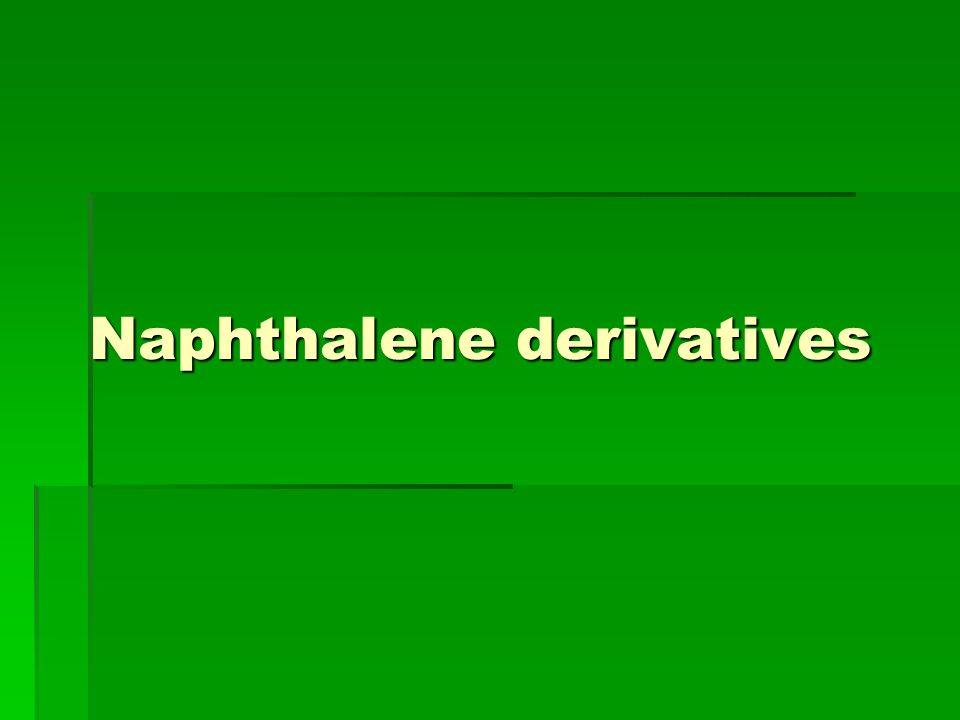 Naphthalene derivatives
