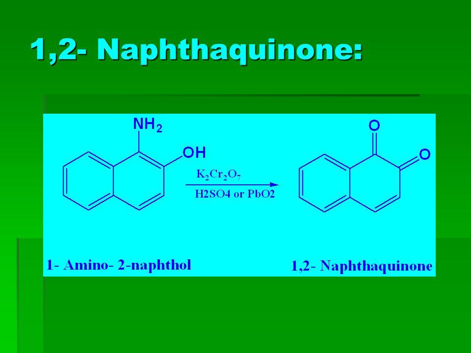 1,2- Naphthaquinone: