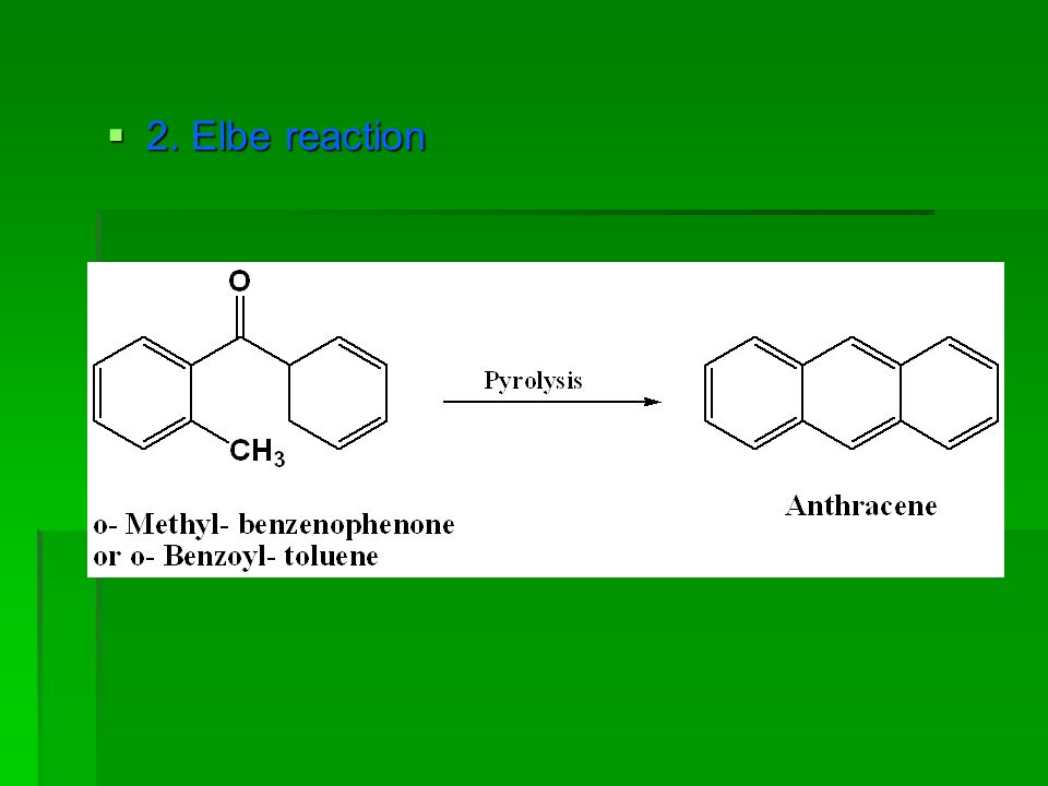 2. Elbe reaction