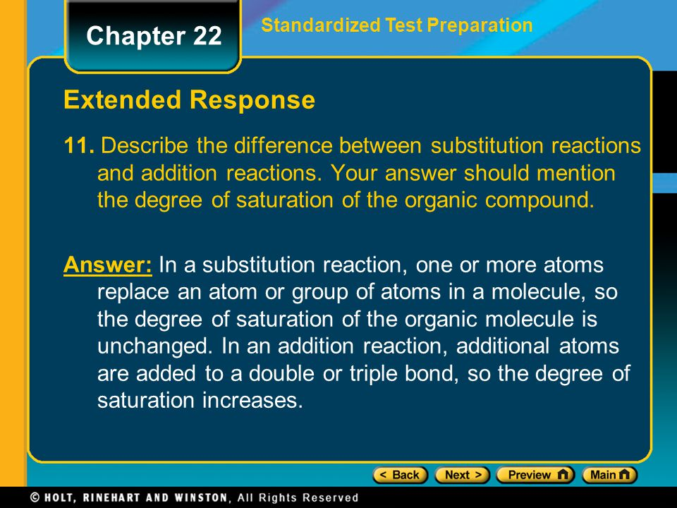 Chapter 22 Extended Response