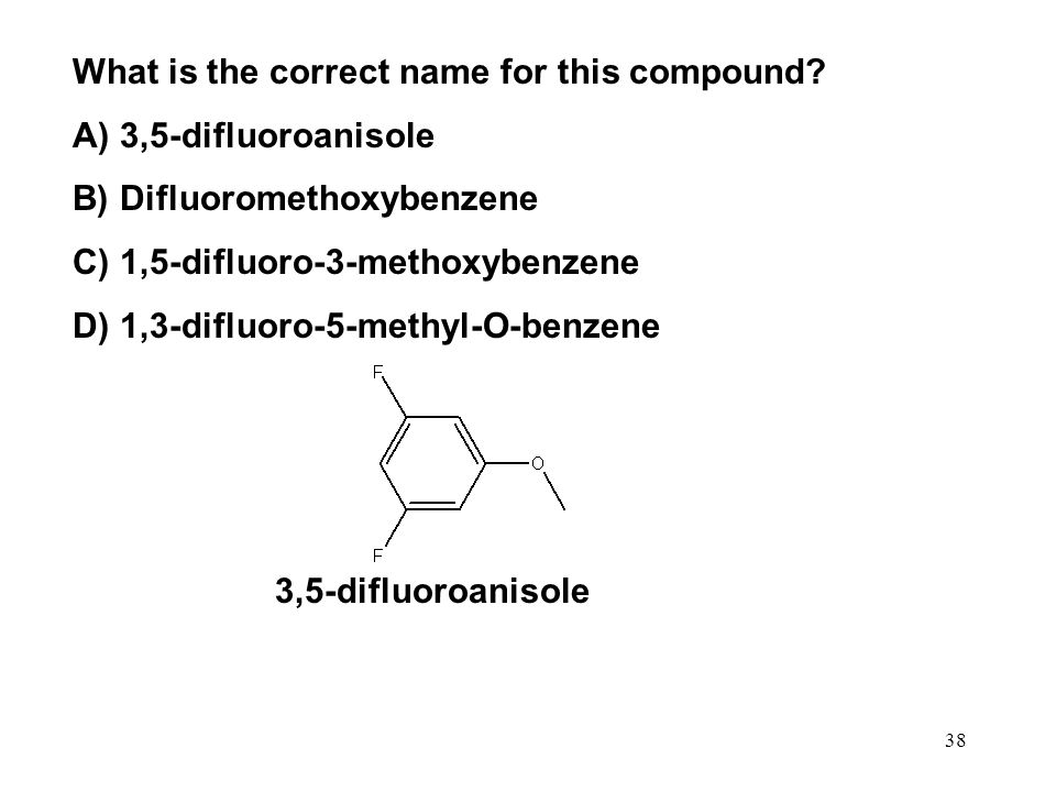 What is the correct name for this compound