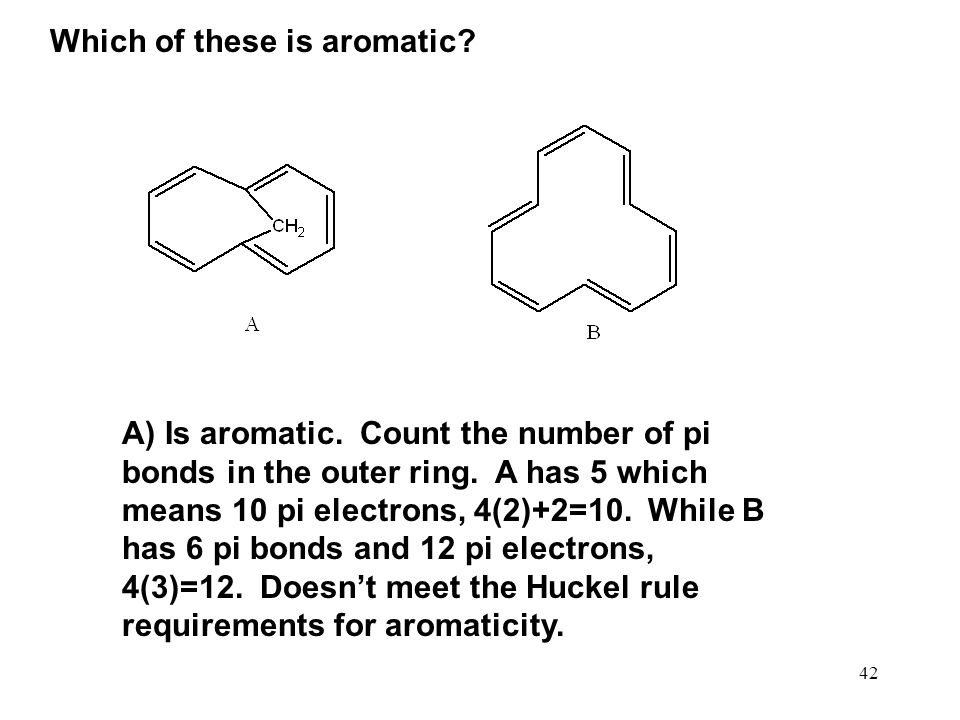 Which of these is aromatic
