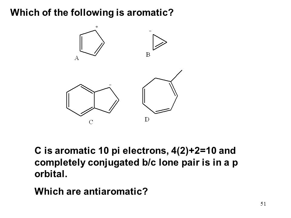 Which of the following is aromatic