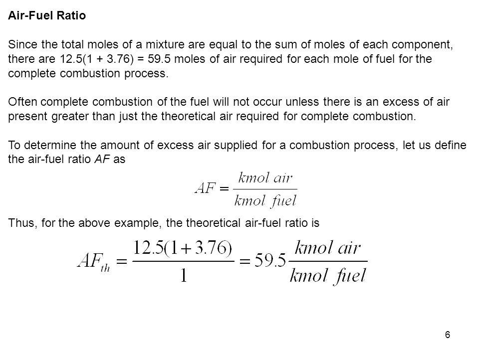 Air-Fuel Ratio
