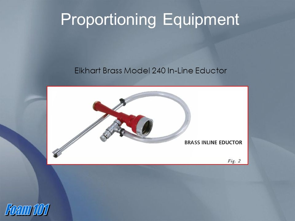 Proportioning Equipment