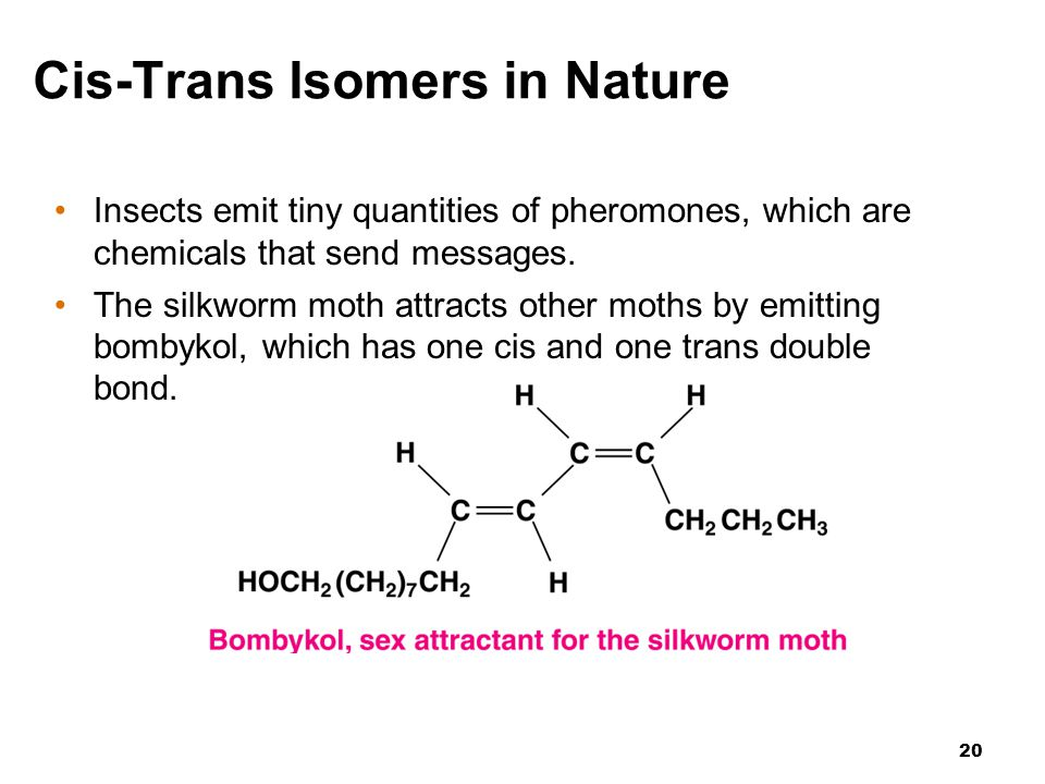 Cis-Trans Isomers in Nature