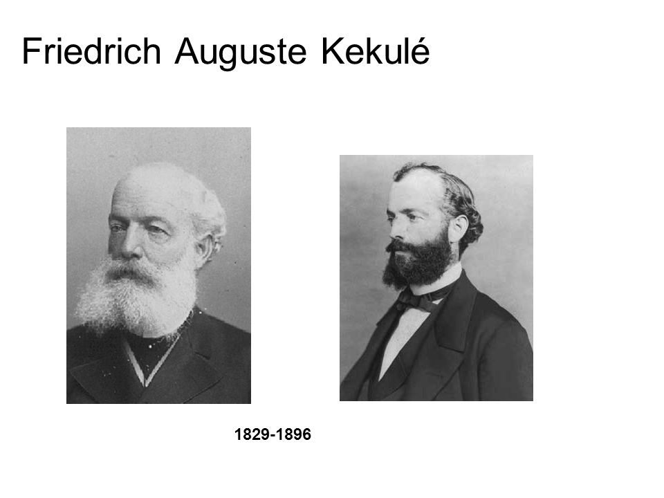 Friedrich Auguste Kekulé