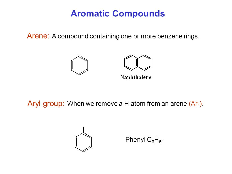 Benzene Ring Compounds