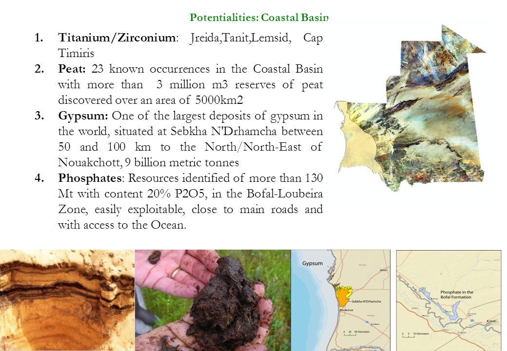 Potentialities: Coastal Basin