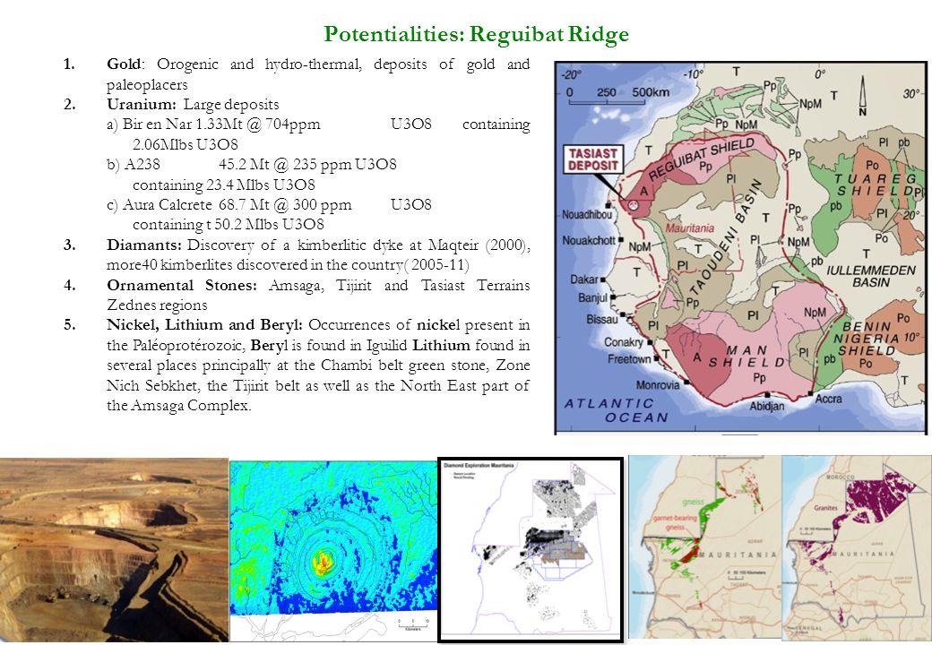 Potentialities: Reguibat Ridge